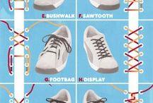 Cipőfűző kötés