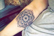 Mandala - Sternum - Lotus Flower - Hamsa - Henna Tattoos