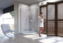 Illusion Collection / The ultimate in luxurious and spacious Shower Enclosures with an emphasis on frameless and sleek design.