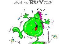 'SPLAT'! / Fun humorous birthday cards to make someone SMILE! / by Chaz & Dave designs ltd chazanddave.co.uk