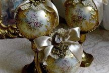 Antique baubles