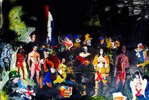 ART by Peter Klashorst / Peter Klashorst is a famous Dutch artist. Living in #Cambodia.