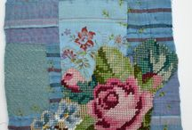 Collage And Stitch