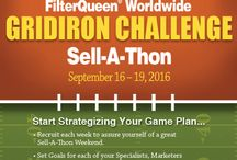 FilterQueen Gridiron Challenge Sell-A-Thon