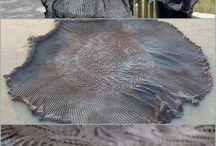 knitting shawl
