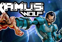 KAMUS WOLF / ART OF THE WORLD OF THIS AMAZING CHARACTER, FOLLOW HIS ADVENTURES AT kamuswolf.ricardoosnaya.com