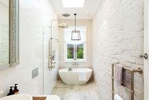 Narrow bathrooms