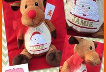 Christmas Embroider Buddies