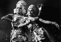 "#IHD Memory Box / A portrait of Padma Vibhushan awardee Uday Shankar with his wife Amala shankar, from his film ""Kalpana"" (1948). (Image credit: Wikipedia.org)"