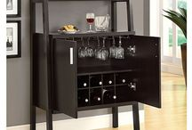 Bar/wine display units