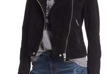 Fashion & Street style ( Leather, Suede jaket)