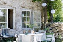 Outdoor Space  / outdoor space, patio, flowers, gardens  / by Domiporta.pl