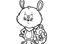 Dibujos de Pascua para colorear / Entra en una sección repleta de dibujos ideales para celebrar la Pascua. Huevos de Pascua decorados para colorear, lindos conejitos y muchos más para que la Semana Santa y la celebración de la Pascua sean muy divertidos. Entra y elige tu dibujo.