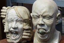 bevo hoofden / hoofden voor de les