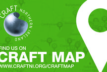 Craft Map - Craft NI's signpost to great craft locations in NI / Outlets, galleries, workshops, open studios - we'll be adding a selection of images from the www.craftni.org/craftmap listings over the next while! Do check out the Craft Map to see full details.