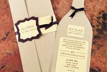 Handcrafted invites