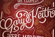 Type & Lettering / Typography that kicks butt