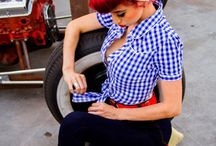 Pin up/Rockabilly style