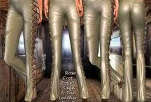 Leather Pants in Second Life / Leather it is my biggest fetish also in RL and leather pants is VIP for me from leathet fashions , for all whe like this same.