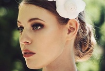 Serena Lindeman bridal headpieces / Hand crafted silk flowers to grace the wedding day.