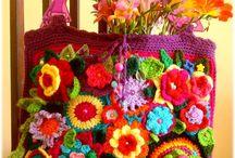 bolsos con flores