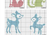 Animal Cross Stitch / Animal Cross Stitch