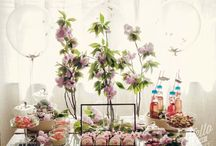 Pretty Party Flowers. Girls / Flowers are a must to create a stunningly designed and scented party.