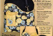 Bag end wallet - pattern