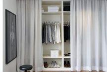 Elbise odaları ve gardrop