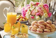 Brunch ideas / tea party / by Mrs. Champagne 💍