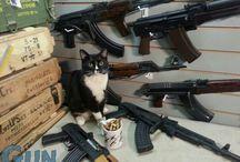 AK47 / Kalashnikov Rifles,  Ammo, Bayonets,  and More