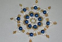 Basteln Perlensterne