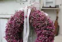 Wreaths - inspiration..