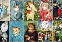 Art and cats