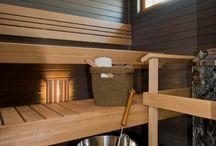 Bathrooms, sauna