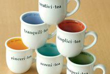 Tasse de thé et de café