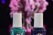 Ephemeral Beauty Duo / Collaboration with blogger Nail Art Sakura