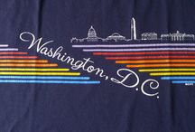 Vintage Washington D.C. / Old school tees from BreakingT's hometown!
