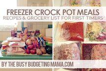 freezer meals / by Kara Peterson