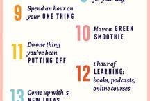 Good Daily Habits