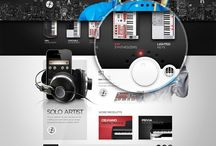 Webdesign / A few website and digital design inspirations / by Kevin Tresor