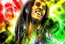 """Couleur Reggae / """"La musique peut rendre les hommes libres."""" (Bob Marley)"""