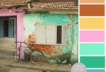 Colour Palettes / Pretty Palettes