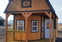 L-shaped Porch Buildings / Grandview offers custom build sheds in all different styles now with L-shaped porches!