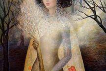 Art ladies / by Deborah Waldman-Pontious