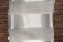 Ladies Satin Scarf In Cream, Ideal For Choires