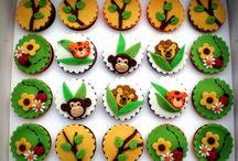 cupcakes jungles