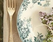 Transferware green