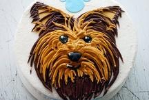 yorkie birthday cakes