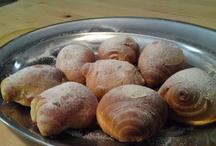 dolci lievitati / brioches, croissant, ecc. con lievito di birra o lievito madre / by Mariellam